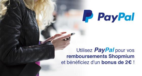 Shopmium Paypal