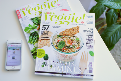 article magazine slowly veggie